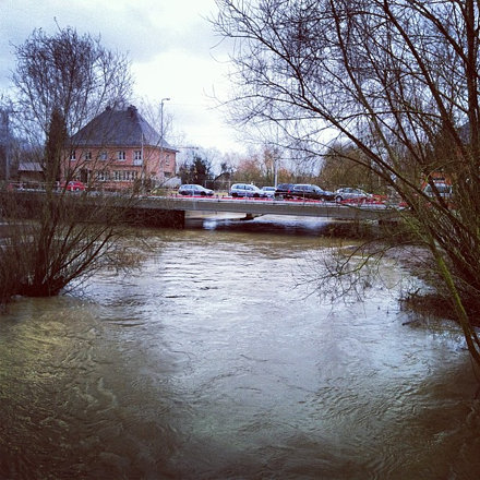 #troubled #waters #alzette #hesperange #river #flood #luxembourg