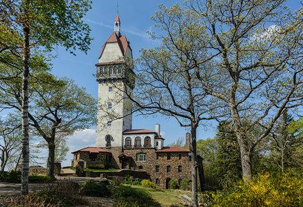 Heublein Tower, Talcott Mountain State Park, Simsbury, Connecticut