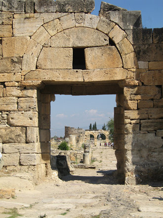 Hiérapolis - Porte byzantine