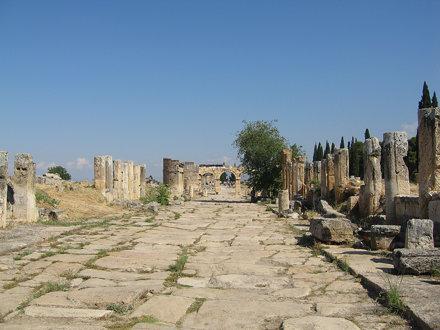 Hiérapolis - Cardo