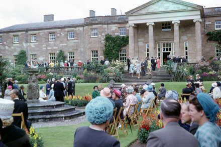 garden party govment house 1966