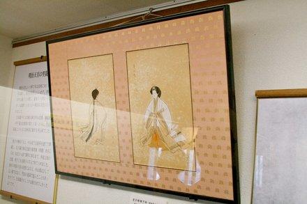 japanese print in hirado castle