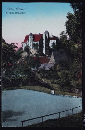 P006788 - Sachs. Schweiz. Schloss Hohnstein.