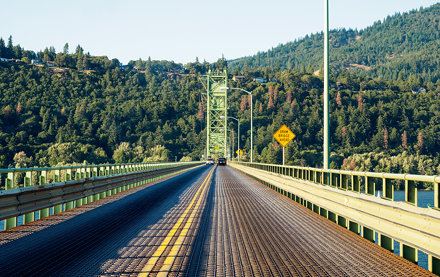 draw bridge ahead