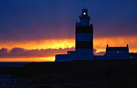 Hook Lighthouse Sunset