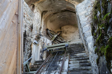 Funicular Amsteg - Bristen