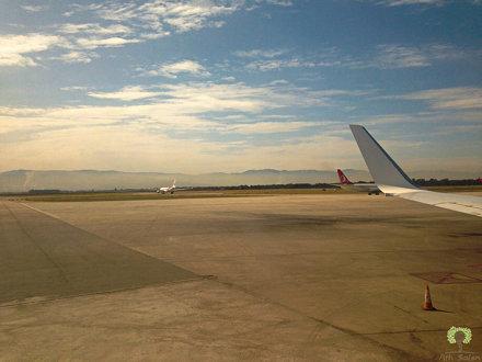 Tarmac de l'aéroport international Houari Boumediene