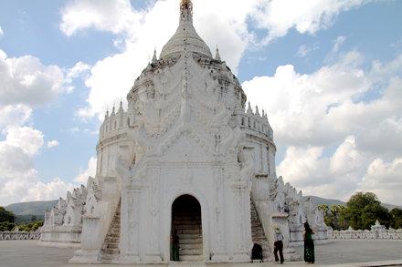 Hsinbyume Pagoda, Mingun, Myanmar, 2011