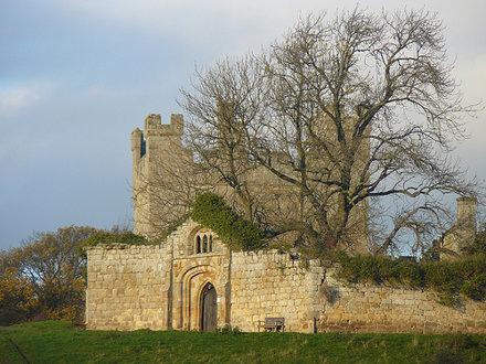 2009-Nov-15 - NRWS - Hulne Park 39 - Alnwick - Northumberland - Hulne Priory