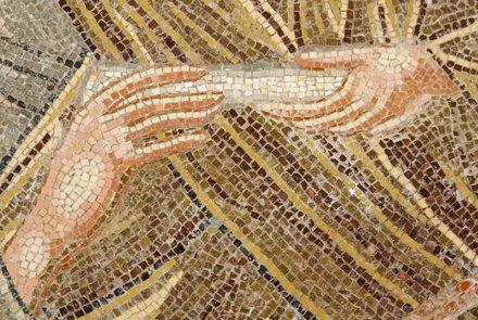 Détail d'une icône du monastère de Philerimos - Rhodes - Grèce