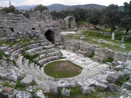 The Bouleuterion, Iasos, Turkey
