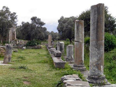 The Agora, Iasos, Turkey