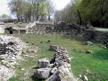 The Great Baths complex, Ancient Dion