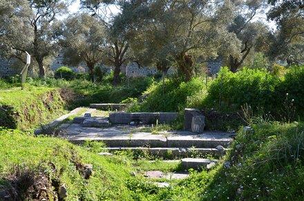 The Area of Artemis Astias, Iasos, Turkey