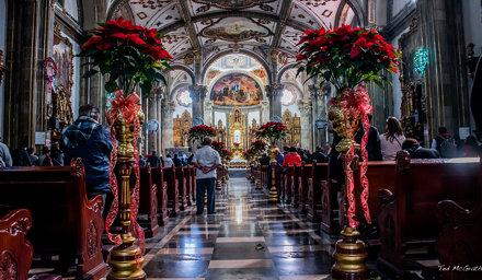 2018 - Mexico -  Mexico City - Iglesia de San Juan Bautista