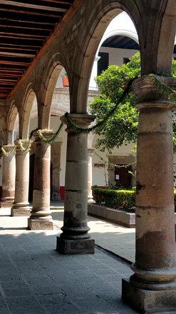 COYOACAN, interior del Convento de San Juan Bautista  7