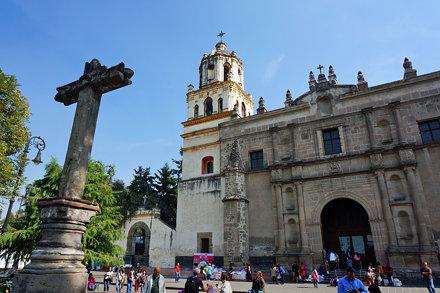 Iglesia de San Juan Bautista, Villa Coyoacan