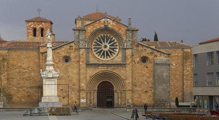 Avila - Iglesia de San Pedro