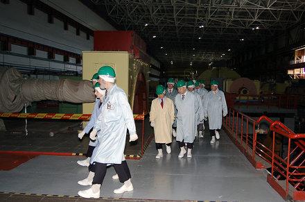 IAEA DG Amano visit to Ignalina Nuclear Power Plant (01890019)