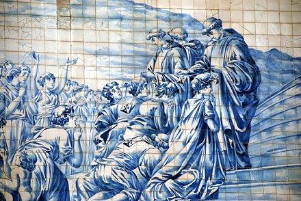 Igreja do Carmo azulejos