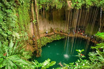 Ik Kil Cenote, Yucatan