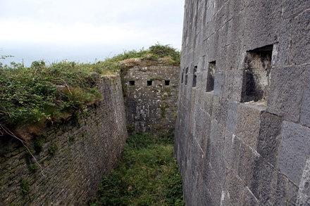 Napoleonic era artillery battery, Scattery Island