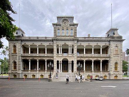 ʻIolani Palace; Honolulu, HI