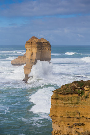 All along the Great Ocean Road, Victoria