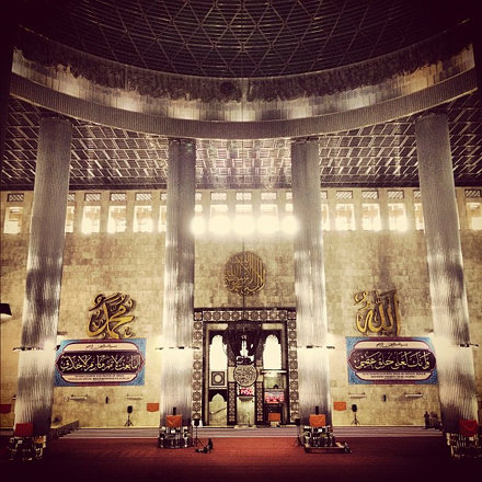 Being here, the third largest mosque in Islam, was pretty crazy.
