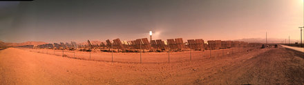 Ivanpah Solar Power Facility Pano