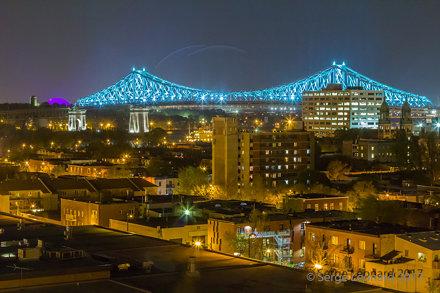 170517 Illumination du Pont Jacques Cartier    -7357