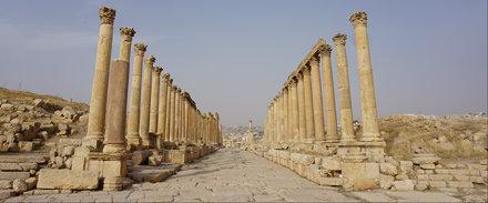The Carbo, the Roman Ruins of Jerash, Jordan.