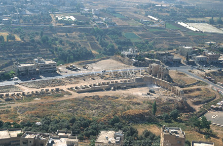 Jarash Circus, Arch Hadrian