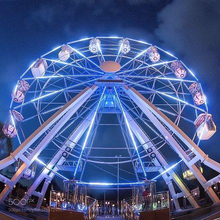 Ferris Whell, Jerudong Park Playground Brunei Darussalam