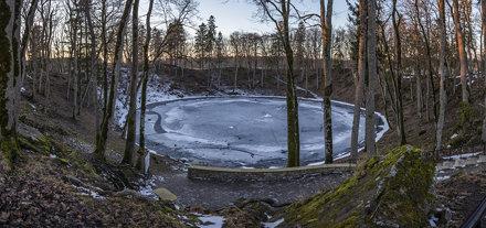 cratére météorite Kaali Estonie