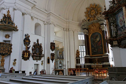17th century Baroque church