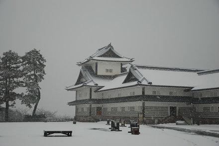 重建的金泽城天守阁