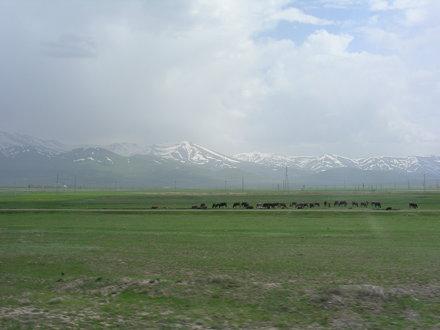 Anatolische Hochebene westlich von Erzurum