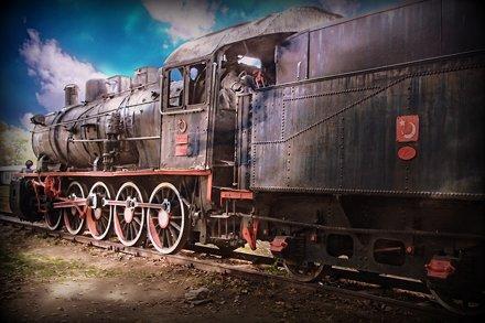 Edirne. Old train station