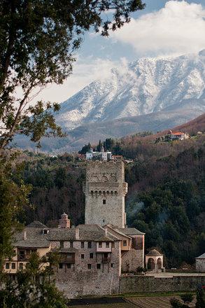 Mt Athos, Karakallou monastery