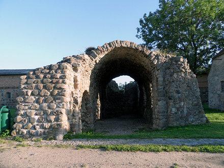 Kloster Stolpe - Ruine der Klosterkirche (1180)