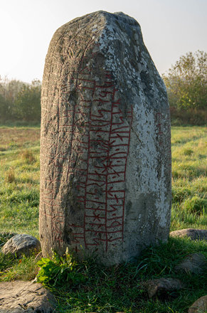 The Karlevi runestone in Öland