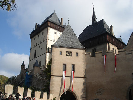 Visit of Karlstejn castle