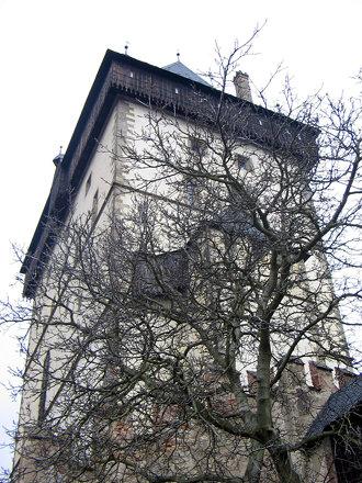 Torre castello Karlstejn