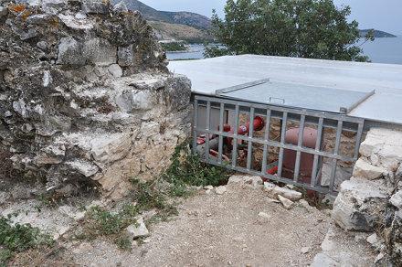 Kassiopi (Κασσιώπης, Korfu, Řecko), pevnost