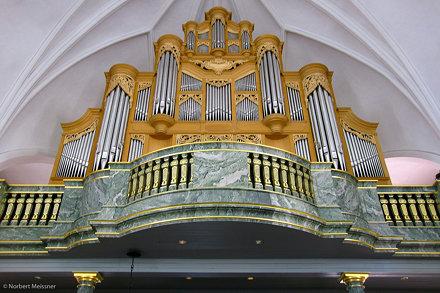 Organ - Katarina kyrka, Södermalm, Stockholm, Sweden