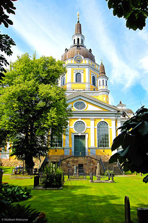 Katarina kyrka, Södermalm, Stockholm, Sweden