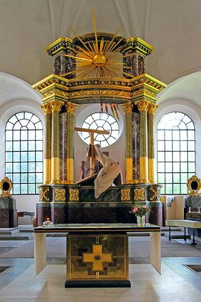 Altar - Katarina kyrka, Södermalm, Stockholm, Sweden