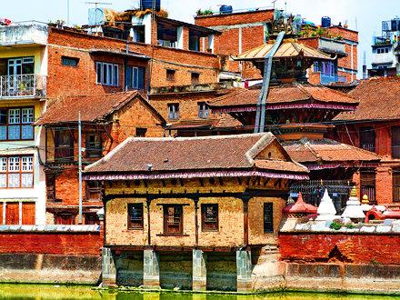 Houses - Patan, Lalitpur District, Kathmandu Valley, Nepal (22.03.2014)