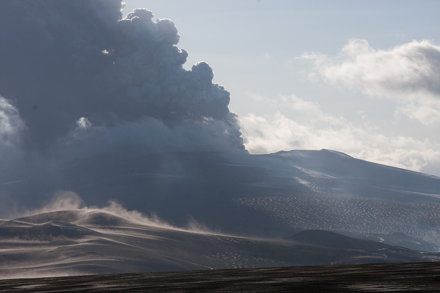 The Eruption at Eyjafjallajökull